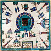 Iznik Kaaba Art Print