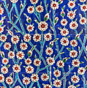 Iznik Tiles In Harem Topkapi Palace Istanbul Art Print