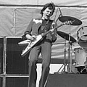 J. Geils In Oakland 1976 Art Print