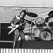 J. Geils On Stage In Oakland 1976 Art Print