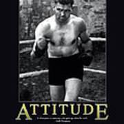 Jack Dempsey Attitude Art Print