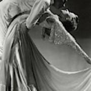 Jack Holland And June Hart Dancing Art Print by Horst P. Horst