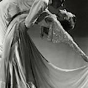 Jack Holland And June Hart Dancing Art Print
