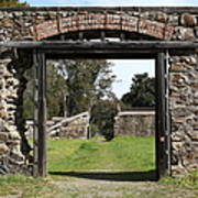 Jack London Ranch Winery Ruins 5d22128 Art Print