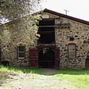 Jack London Sherry Barn 5d22070 Art Print by Wingsdomain Art and Photography