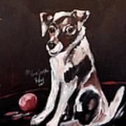Jack Russell II Art Print