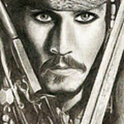 Jack Sparrow Art Print by Michael Mestas
