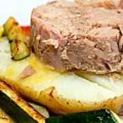 Jacket Potato With Tuna Filling Print by Fizzy Image
