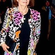 Jackie Kennedy Onassis 1990 Art Print