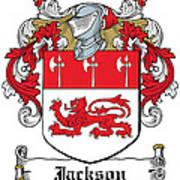 Jackson Coat Of Arms Derby  Art Print