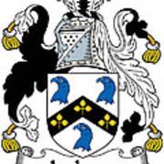 Jackson Coat Of Arms Mayo Ireland Art Print