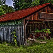 Jackson Garage Art Print
