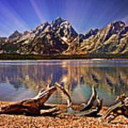 Jackson Lake Mt. Moran Art Print