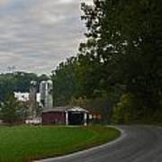 Jackson's Sawmill Covered Bridge Art Print
