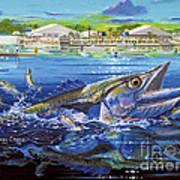 Jacksonville Kingfish Off0088 Art Print