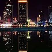Jacksonville Panoramic Art Print