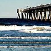 Jacksonville Pier Art Print