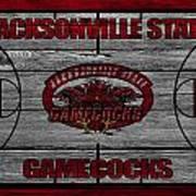 Jacksonville State Gamecocks Art Print