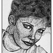 Jaclyn Smith In 1985 Art Print by J McCombie