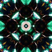 Jade Reflections - 2 Art Print
