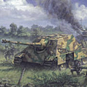 Jagdpanther In Normandy 1944 Art Print