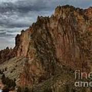 Jagged Peaks At Smith Rock Art Print