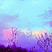 Jagged Sky Art Print