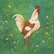 Jagger The Rooster Art Print
