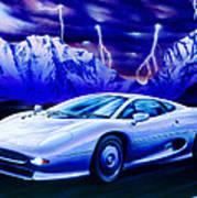 Jaguar 220 Art Print