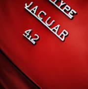 Jaguar E Type Art Print