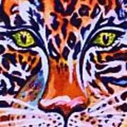 Jaguar Eyes-  Art Print