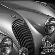 Jaguar Xk 120 Art Print