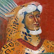 Jaguar Knight Popoca Art Print