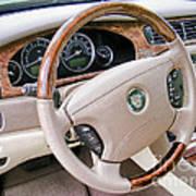 Jaguar S Type Interior Art Print