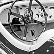 Jaguar Steering Wheel 2 Art Print