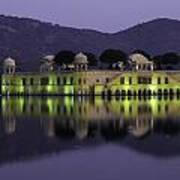 Jai Mahal Water Palace Art Print