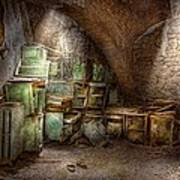 Jail - Eastern State Penitentiary - Cabinet Members  Art Print