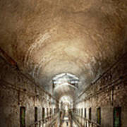 Jail - Eastern State Penitentiary - End Of A Journey Art Print
