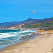 Jalama Beach Santa Barbara County California Art Print