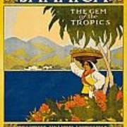 Jamaica The Gem Of The Tropics Art Print
