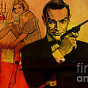 James Bond Art Print