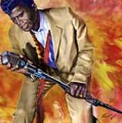 James Brown And His Famous Flames Art Print