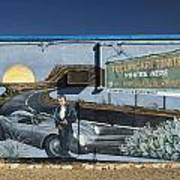 James Dean Mural In Tucumcari On Route 66 Art Print by Carol Leigh