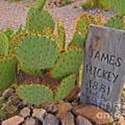 James Hickey Shot  Art Print