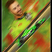 James Hinchcliffe Art Print by Blake Richards
