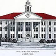 James Madison University Art Print