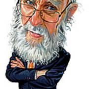 James Randi Art Print