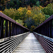 James River Footbridge Art Print