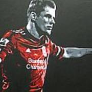 Jamie Carragher - Liverpool Fc Art Print