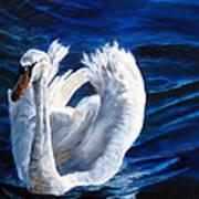 Jamie's Swan Art Print